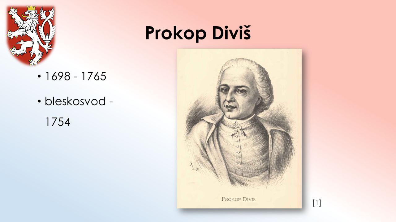 Prokop Diviš 1698 - 1765 bleskosvod - 1754 [1]